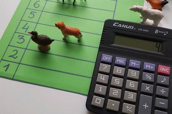 Matematiniai žaidimai – kuriame aukšte gyveni?