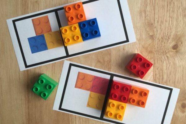 LEGO galimybės