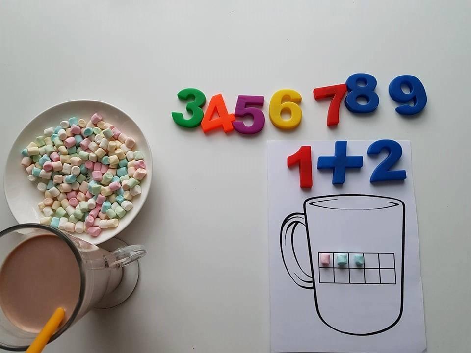 Matematiniai žaidimai – skani matematika