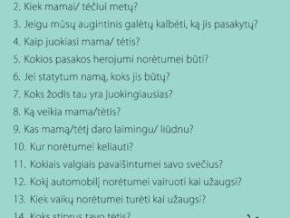 Juokingi klausimai vaikams