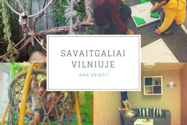 Ką veikti su vaikais savaitgaliais Vilniuje?