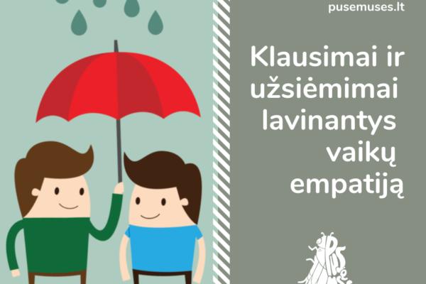 Empatijos lavinimas