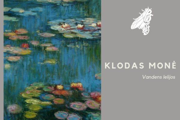 """ANTRAS Paveikslas – Klodas Monė  """"Vandens lelijos"""""""