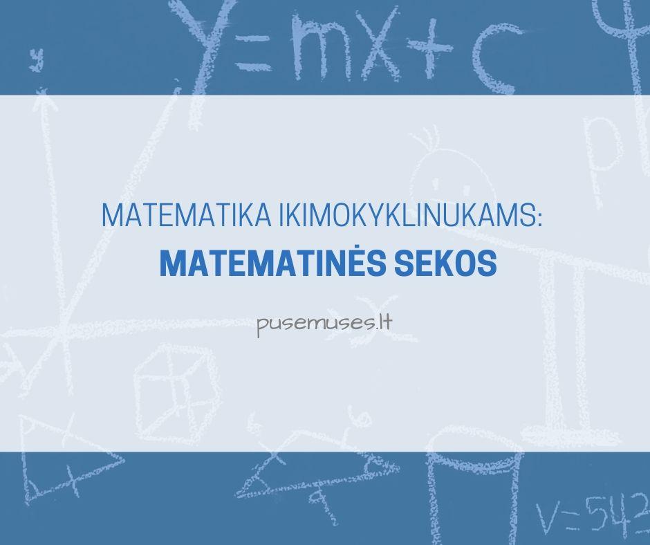 matematinės sekos