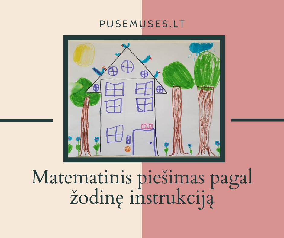 matematika ir piešimas