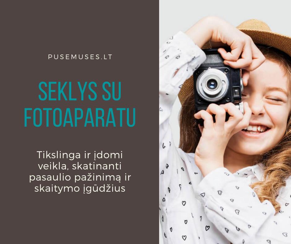 vaikas ir fotoaparatas